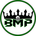 Bad logo black and green 2020