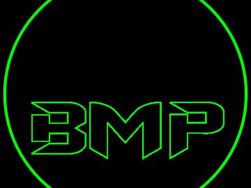 Bad logo black and green 2020